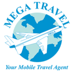Mega Travel Logo